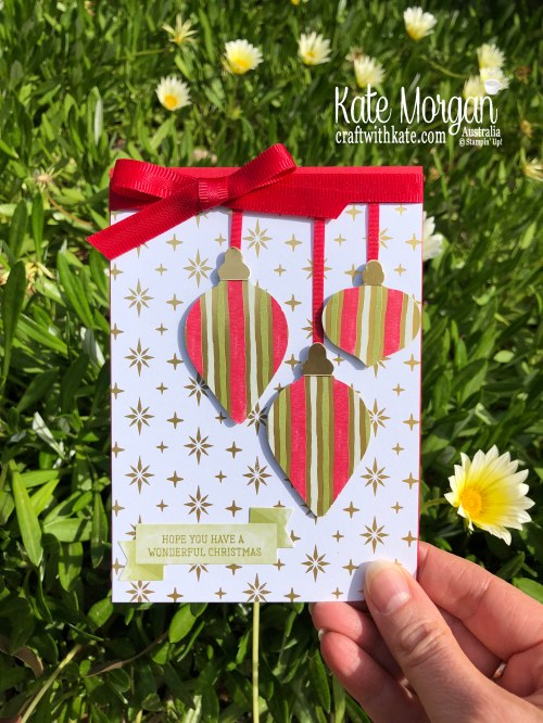 Most Wonderful Time meets Gleaming Ornaments by Kate Morgan, Stampin Up Australia 2019 Holiday catalogue.jpg