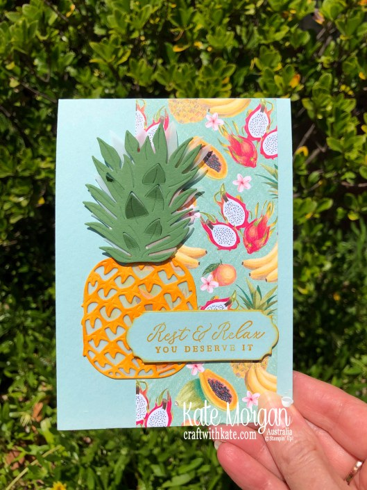 Tropical Oasis Suite by Kate Morgan, Stampin Up Australia. Mini catalogue 2020...jpg