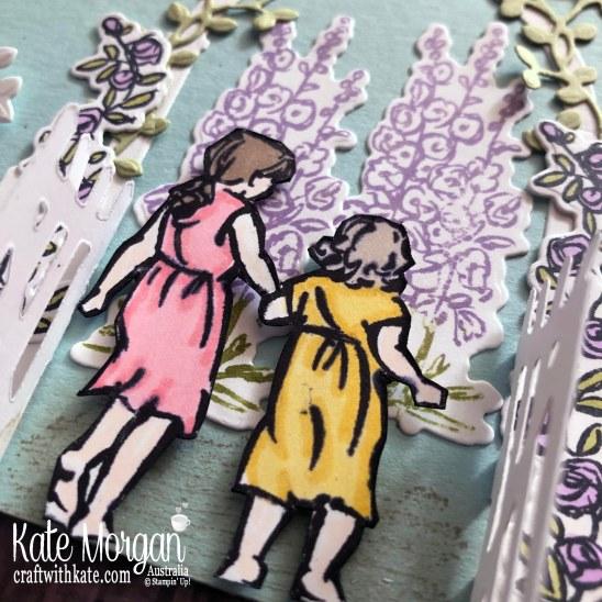 Beautiful Moments & Grace's Garden Stampin Up Mini 2020 by Kate Morgan, Australia m