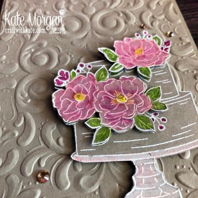 Happy Birthday to You Stampin Up Saleabration 2020 by Kate Morgan, Australia flowers