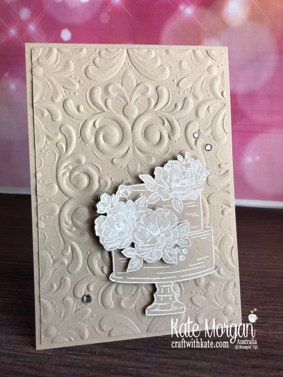 Happy Birthday to You Stampin Up Saleabration 2020 by Kate Morgan, Australia p