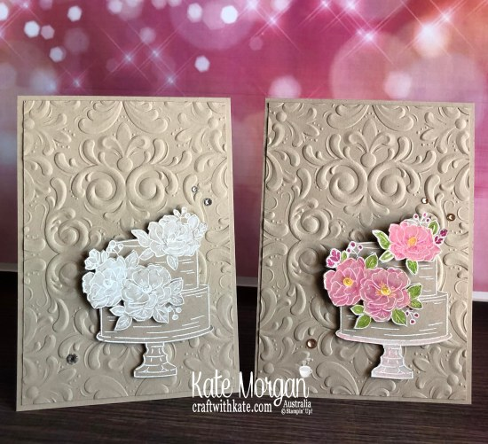 Happy Birthday to You Stampin Up Saleabration 2020 by Kate Morgan, Australia