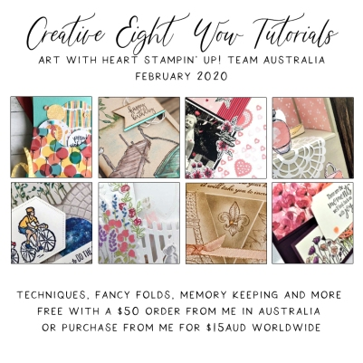 February 2020 Creative Eight Wow Tutorials by the AWHT