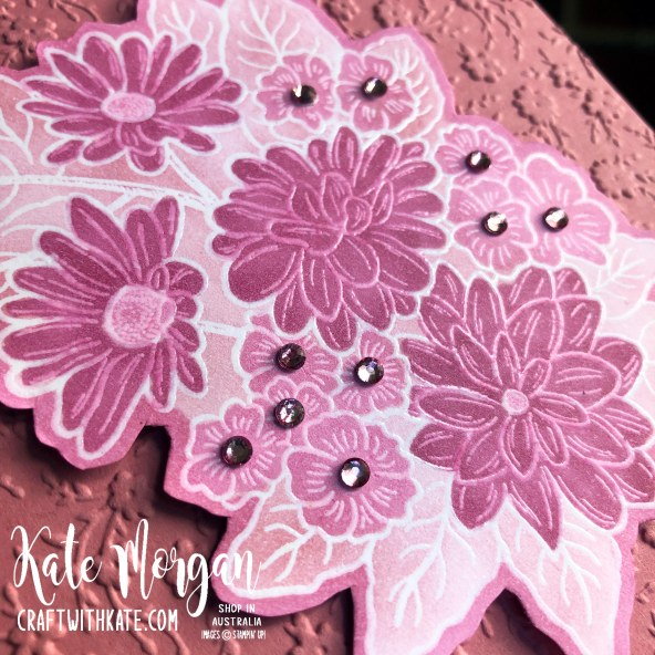 Monochrome Ornate Style Feminine card Stampin Up 2020 by Kate Morgan, Australia s