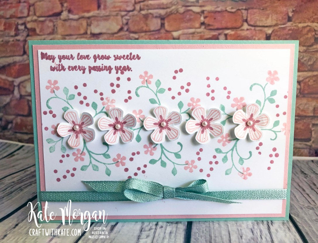 Thoughtful Blooms Stampin Up Saleabration 2020 by Kate Morgan Australia