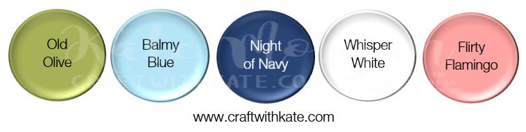 Olive Balmy Navy White Flirty