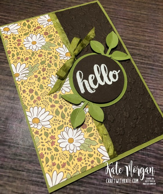 Ornate Garden card by Kate Morgan, Stampin Up Australia 2020