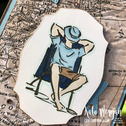 A Good Man masculine card by Kate Morgan, Stampin Up Australia 2020 s