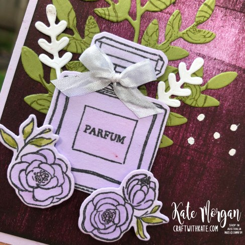 Colour Creations Showcase - Blackberry Bliss - Dressed to Impress by Kate Morgan Stampin Up Australia 2020