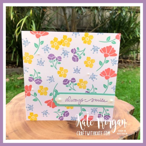 Lovely You Bundle by Kate Morgan, Stampin Up Australia 2020