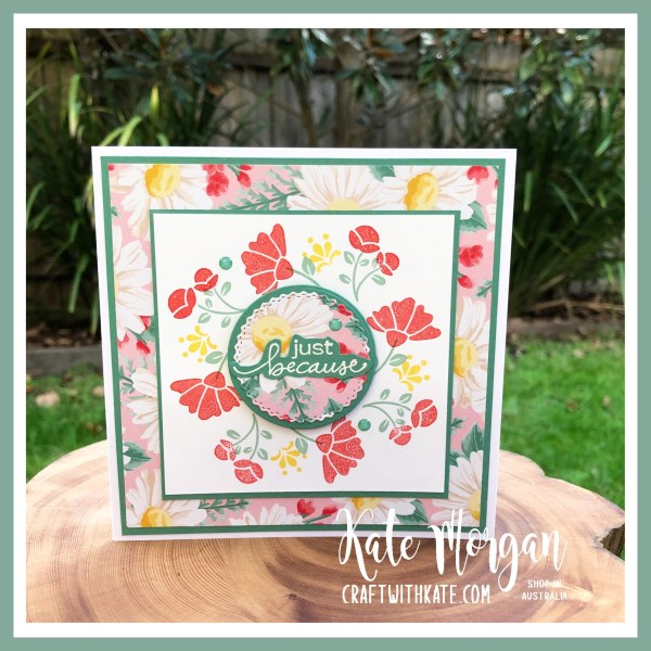 Lovely You Bundle SITR card by Kate Morgan Stampin Up Australia 2020