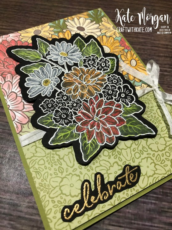 Ornate Style card by Kate Morgan, Stampin Up Australia 2020.