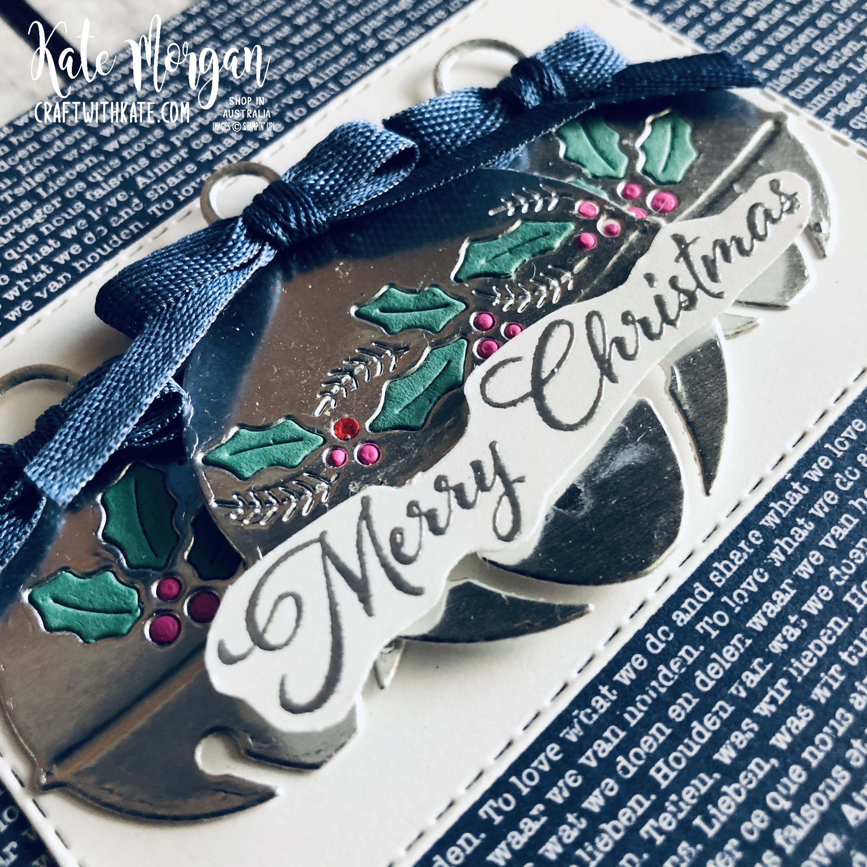 Cherish the Season Christmas Bells Stampin Up by Kate Morgan Australia 2020