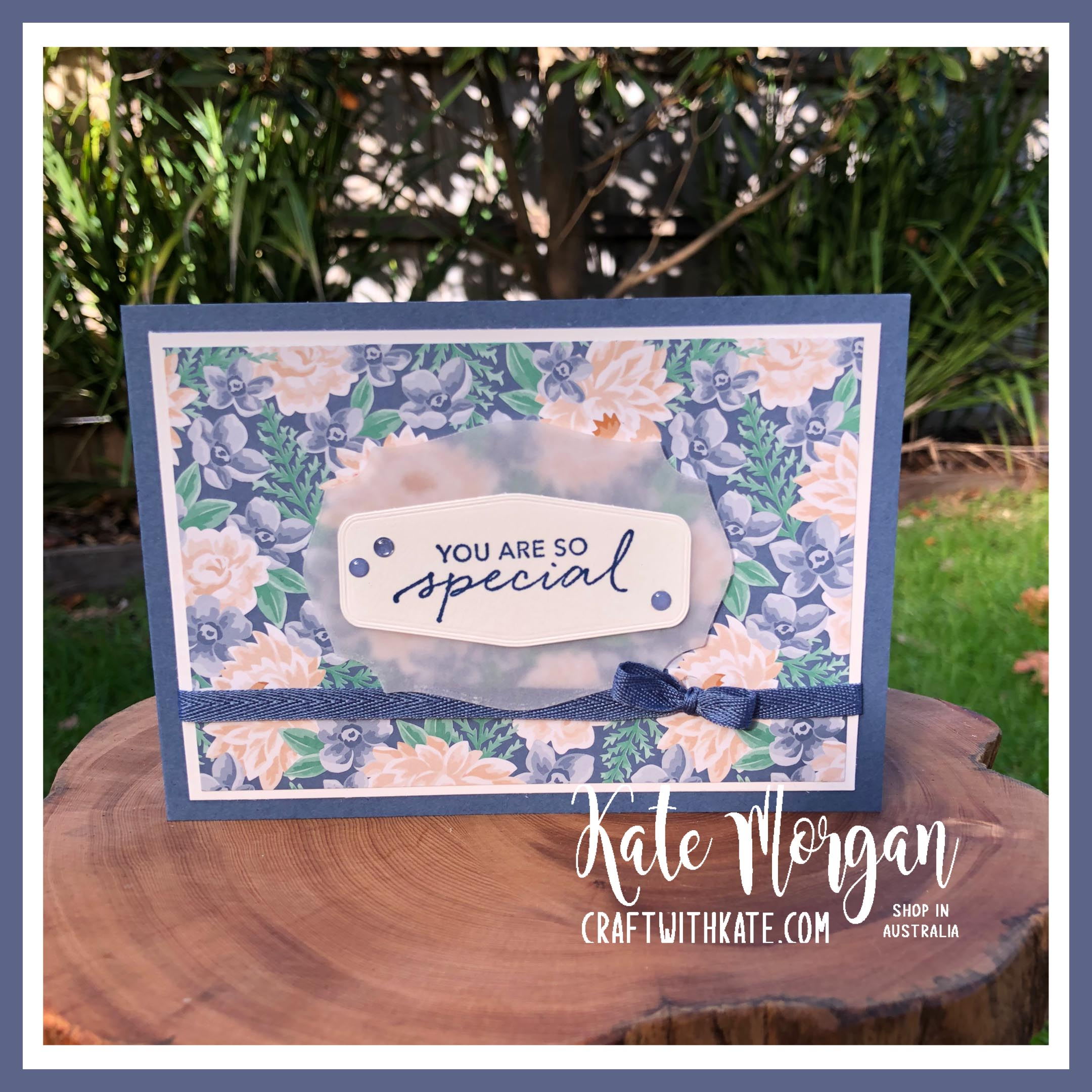 Misty Moonlight & Flowers for Every Season DSP by Kate Morgan, Stampin Up Australia 2020
