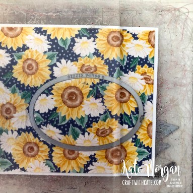 Peek a Boo Window 14th birthday card using Stampin Up Prized Peony by Kate Morgan, Australia 2020..