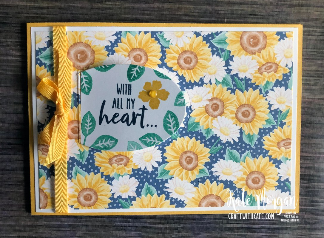 Peek a Boo Window 14th birthday card using Stampin Up Prized Peony by Kate Morgan Australia 2020