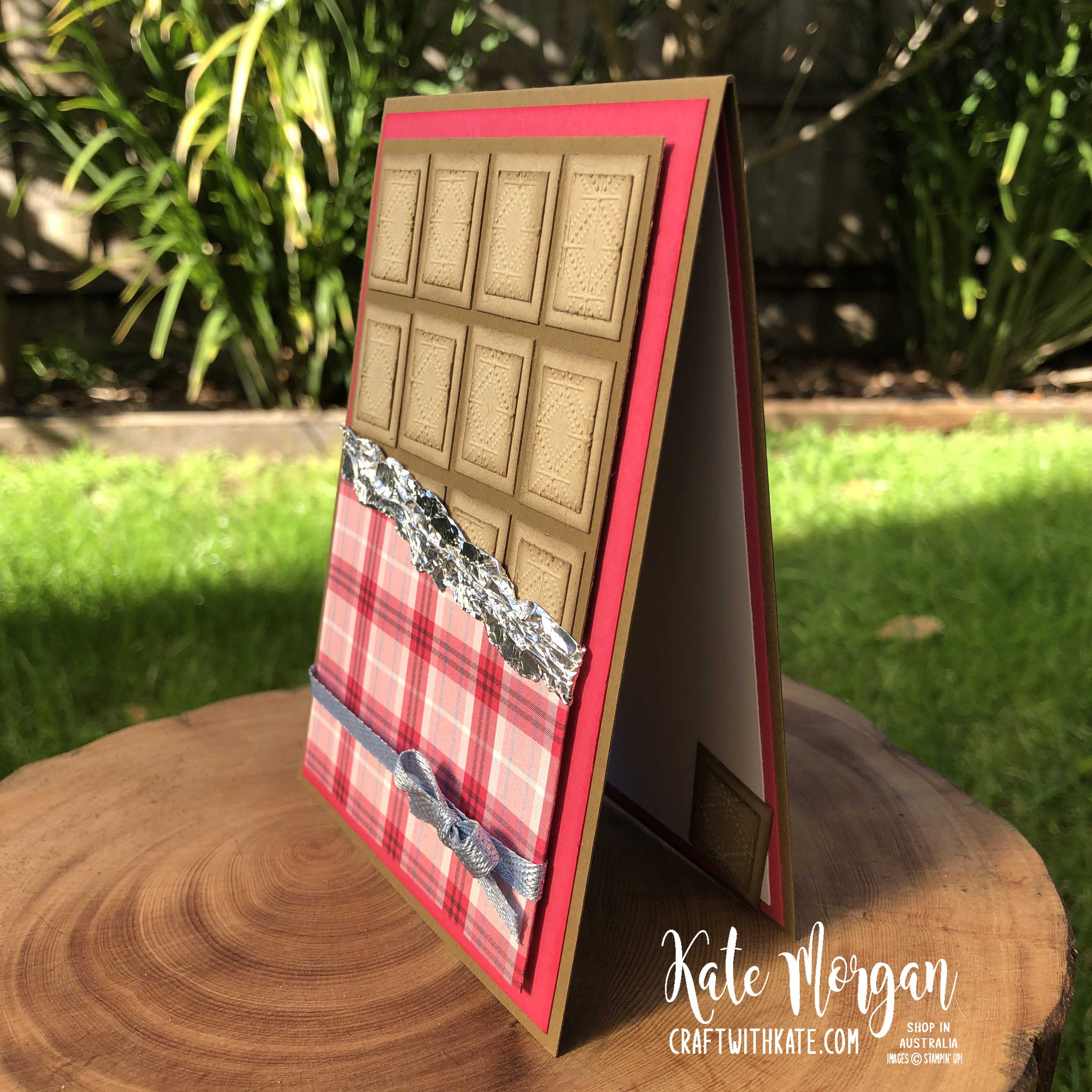Nothing's Better Than Chocolate card by Kate Morgan, Stampin Up Australia 2020, Colour Creations Showcase, Crumb Cake.