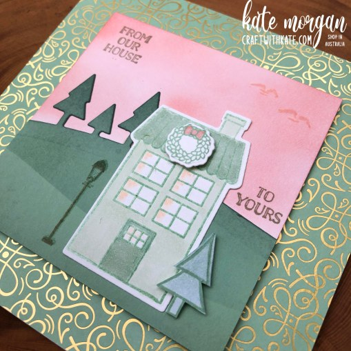 Coming Home for Christmas by Kate Morgan, Stampin Up Australia 2020