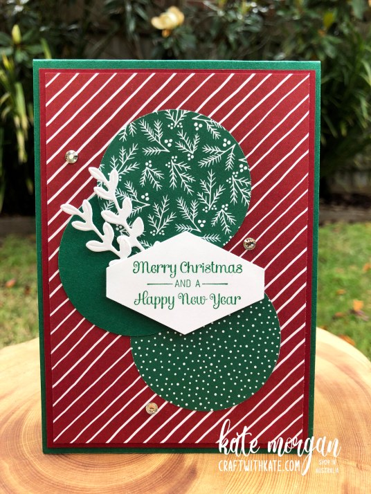 Classic Christmas by Kate Morgan, Stampin Up Australia 2020