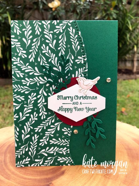 Curvy Classic Christmas by Kate Morgan, Stampin Up Australia 2020