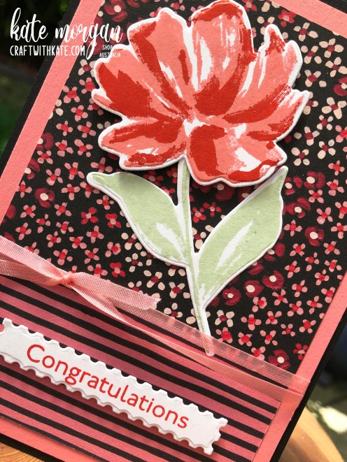 Art Gallery Bundle with Flower & Field DSP by Kate Morgan, Stampin Up Australia 2021