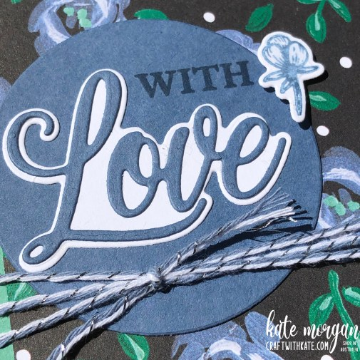 Love You Always and Flower & Field DSP by Kate Morgan Stampin Up Australia 2021.