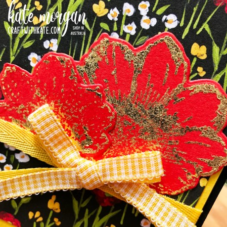 Love You Always with Flower & Field DSP by Kate Morgan Stampin Up Australia 2021.