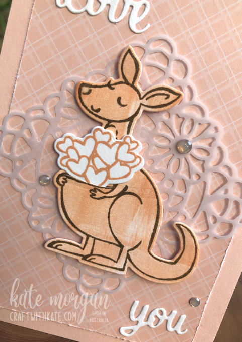 Love You Kangaroo by Kate Morgan Stampin Up Australia 2021