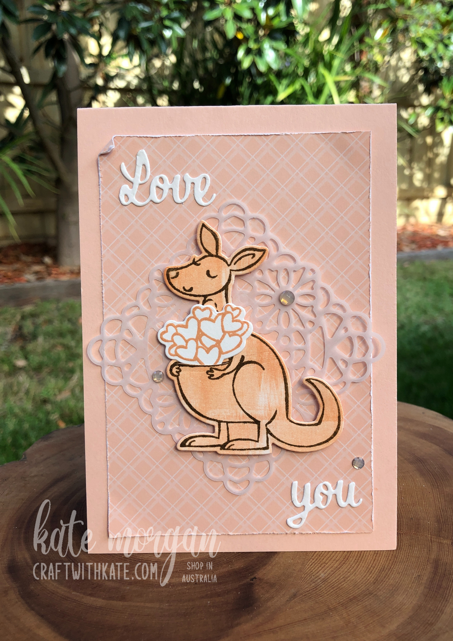 Love You Kangaroo by Kate Morgan, Stampin Up Australia 2021