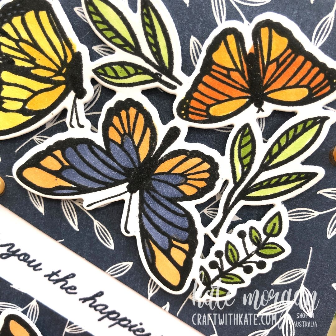 Floating & Fluttering Bundle 2021 by Kate Morgan Stampin Up Australia close