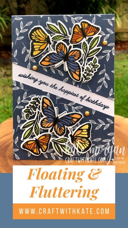 Floating & Fluttering Bundle 2021 by Kate Morgan Stampin Up Australia