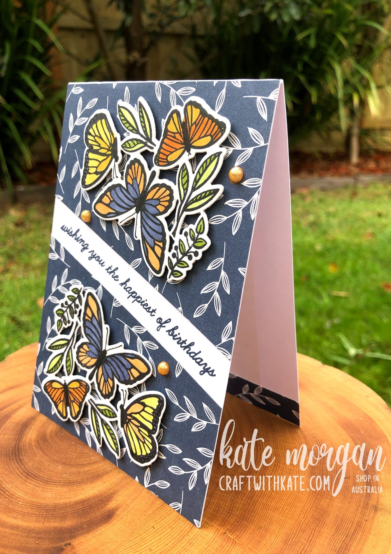 Floating & Fluttering Bundle by Kate Morgan Stampin Up Australia 2021