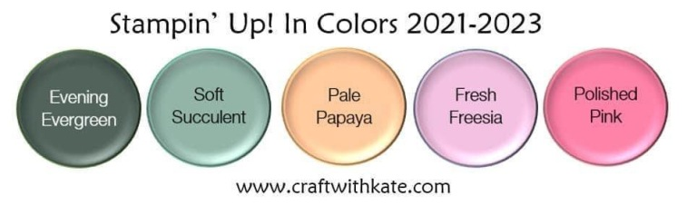 2021-2023 InColors Stampin Up