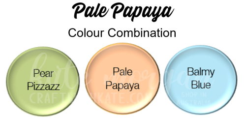 Pale Papaya Combination