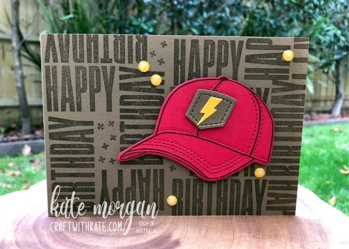 Hats Off & Biggest Wish Stampin Up by Kate Morgan, Australia 2021 Colour Creations Showcase.