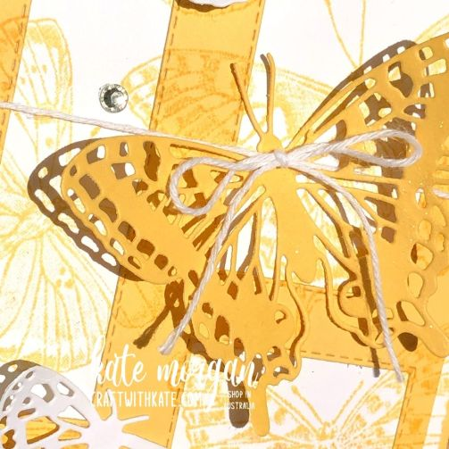 So Saffron for CCS Butterfly Brilliance Stampin Up by Kate Morgan, Australia 2021.