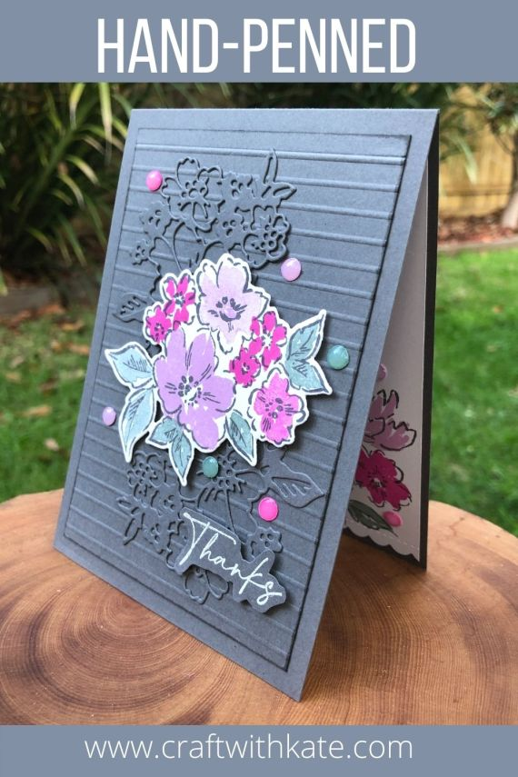 Hand-Penned Bundle for Basic Gray CCS by Kate Morgan, Stampin Up Australia 2021