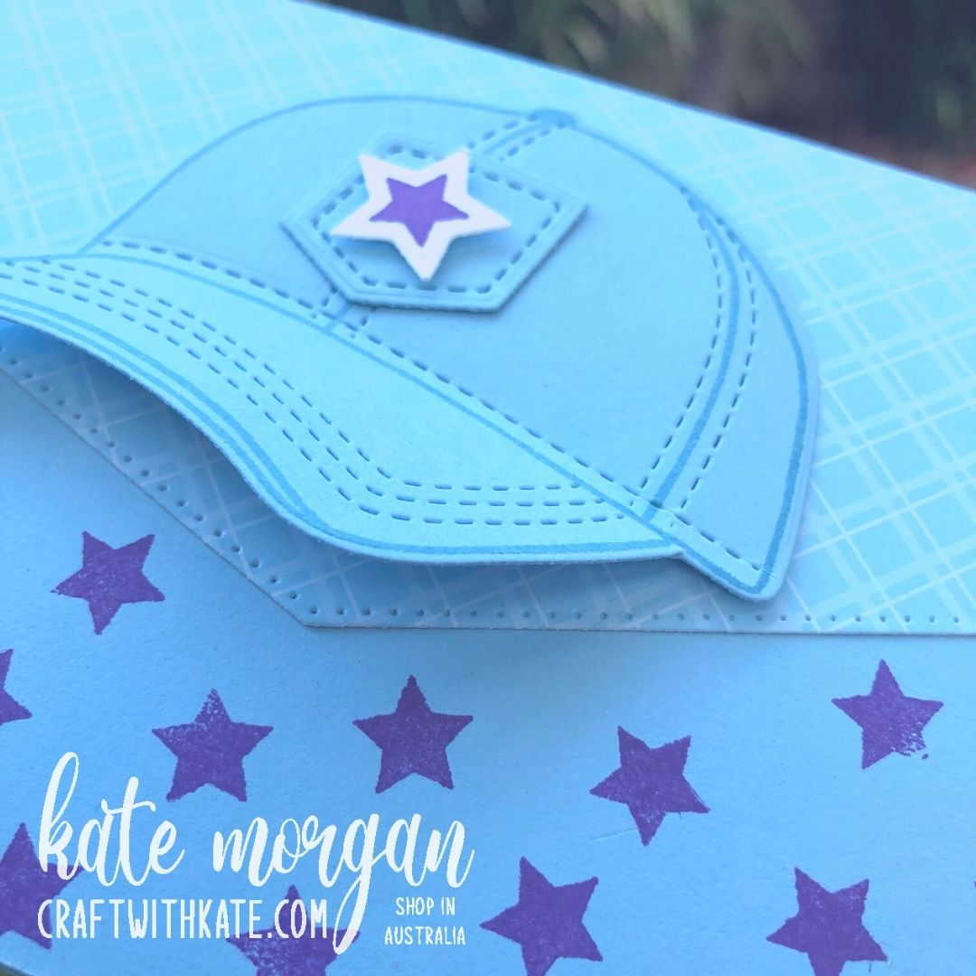 Hats Off Bundle for Balmy Blue CCBH by Kate Morgan, Stampin Up! Australia 2021