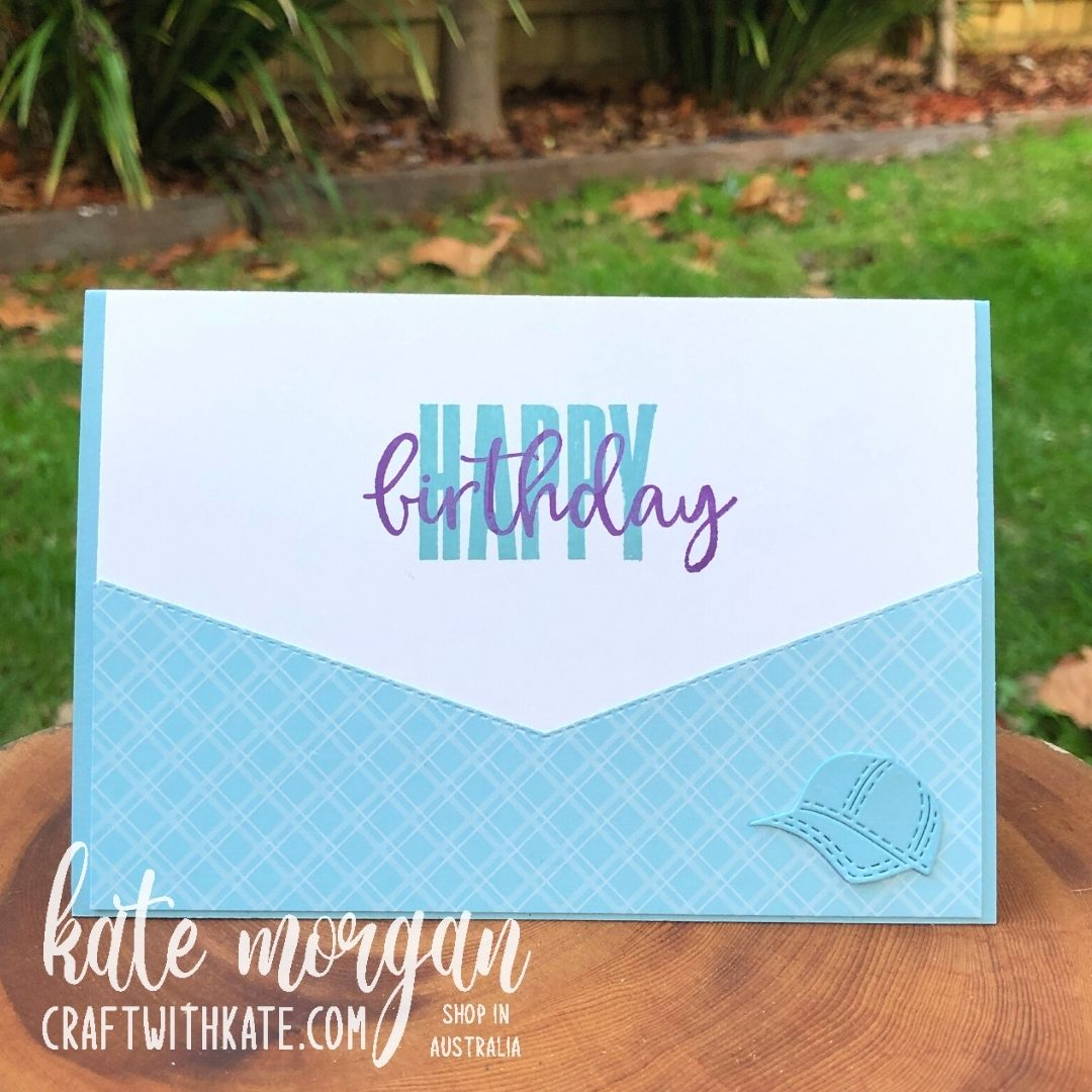 Hats Off Bundle for Balmy Blue CCBH by Kate Morgan, Stampin Up Australia 2021