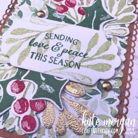 Christmas Season Bundle, Stampin Up 2021 by Kate Morgan, Australia close