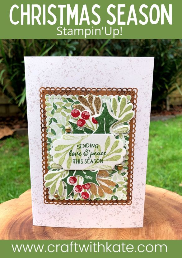 Christmas Season Bundle, Stampin Up 2021 by Kate Morgan, Australia