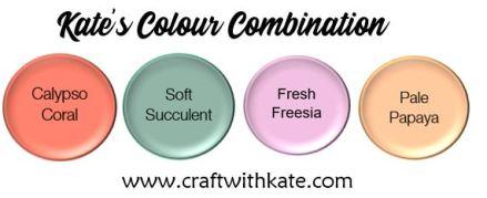 Colour Combination - Calypso Coral