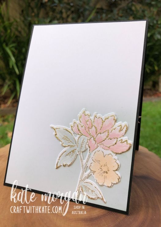 Hand-Penned Bundle for Blushing Bride CCS by Kate Morgan, Stampin Up Australia 2021 inside