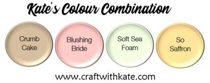 Colour Combination - Crumb Cake