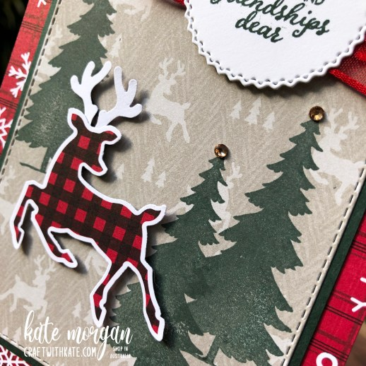 Peaceful Deer Quick Card 3 HOC by Kate Morgan, Stampin Up Australia Christmas 2021.