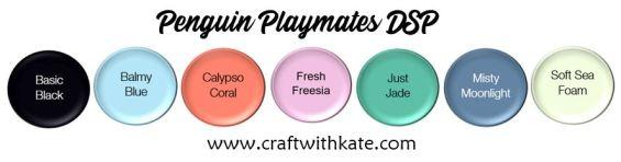 Penguin Playmates DSP JD21