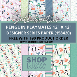 Penguin Playmates DSP Saleabration 2021 Kate Morgan Australia