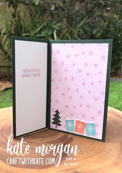 Tower Card using Stampin Up Penguin Place Bundle SAB 2021 by Kate Morgan, Australia 4