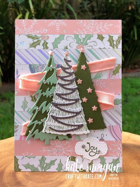 Whimsy and Wonder Christmas Card 1 HOC by Kate Morgan, Stampin Up Australia Christmas 2021