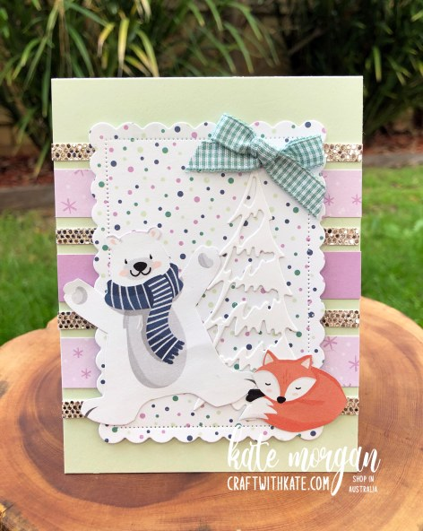 Penguin Playmates Saleabration 2021 by Kate Morgan, Stampin Up Australia Heart of Christmas 6